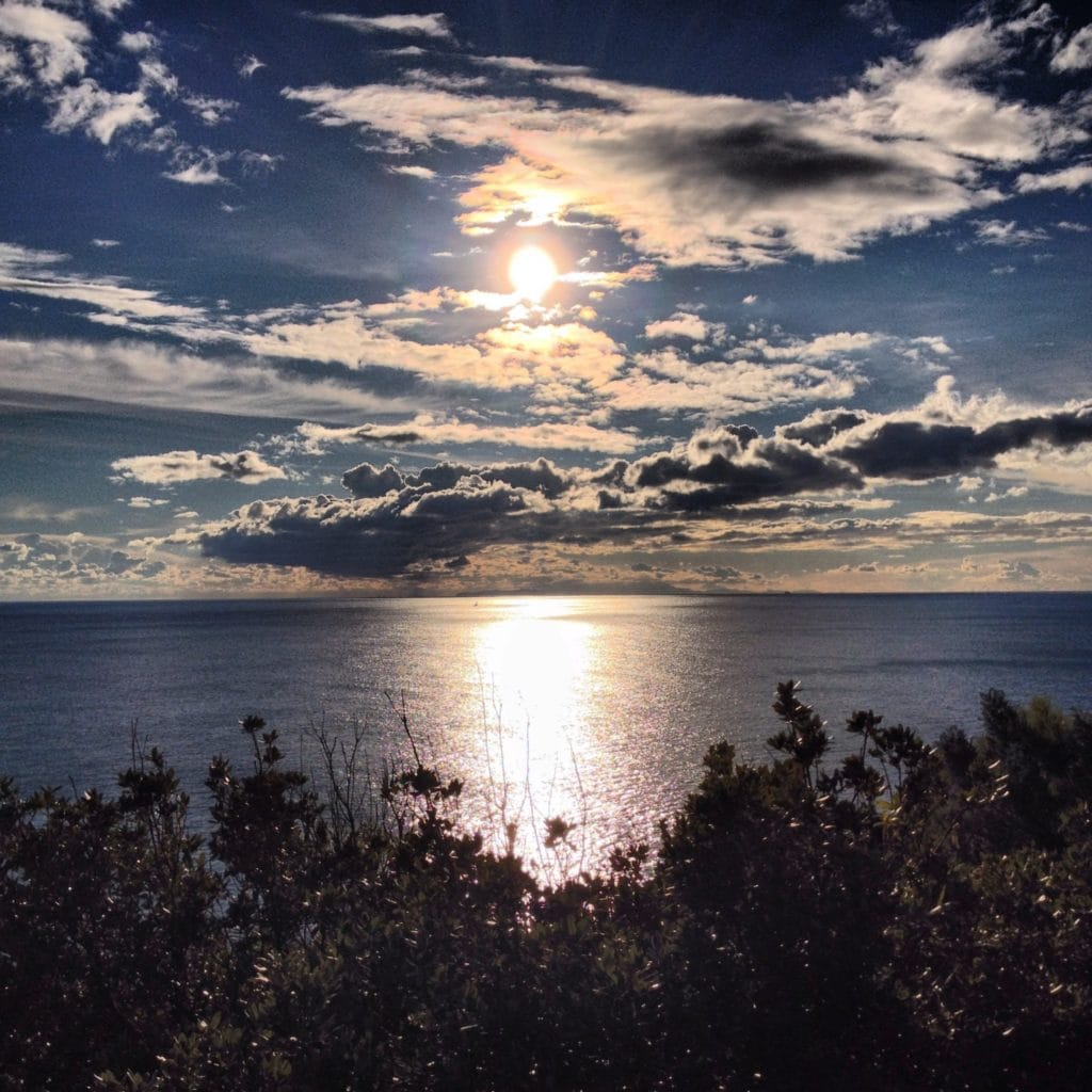 sunset Etruscan Coast Tuscany