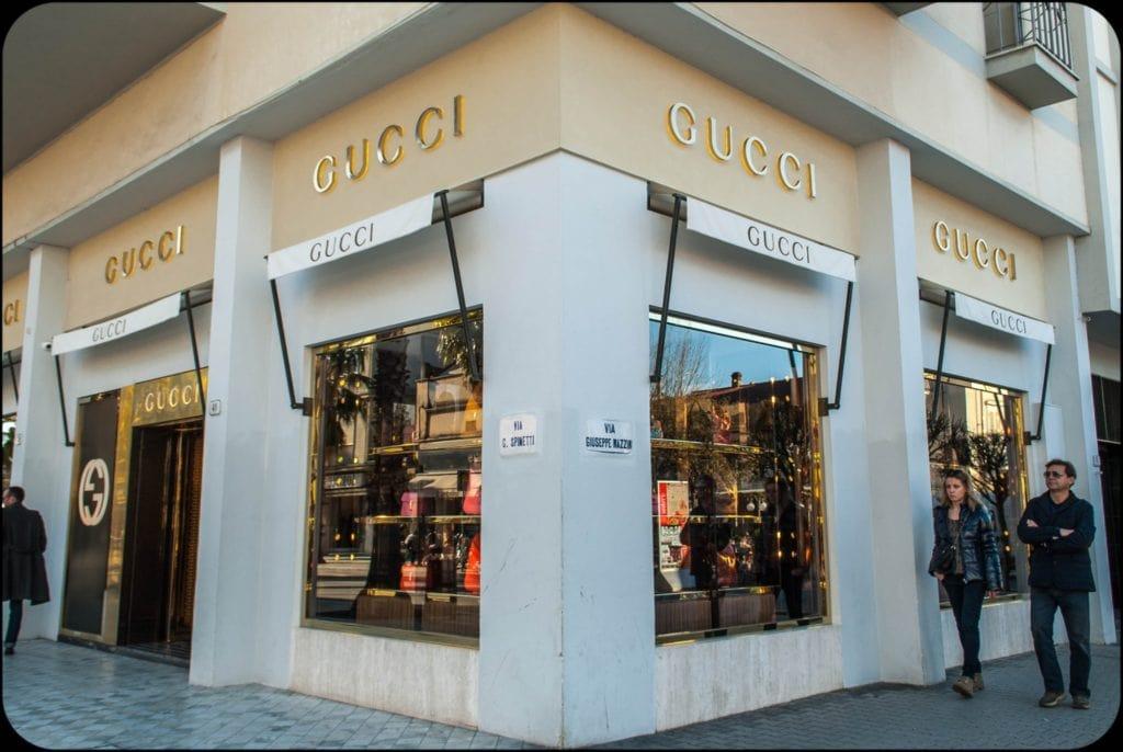 Forte dei Marmi Gucci Boutique Tuscany