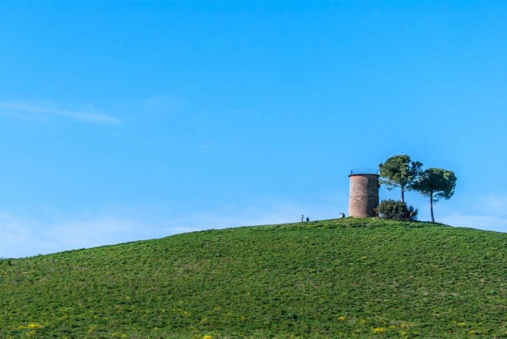 Old mill in Bibbona, spring break in Tuscany