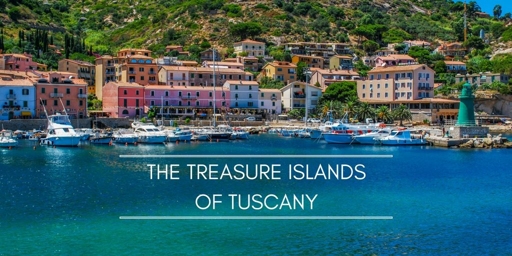The islands of Tuscany cover photo