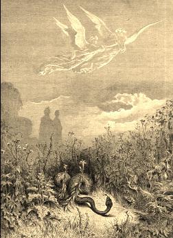 purgatory dante alighieri divine comedy snake valdimagra lunigiana