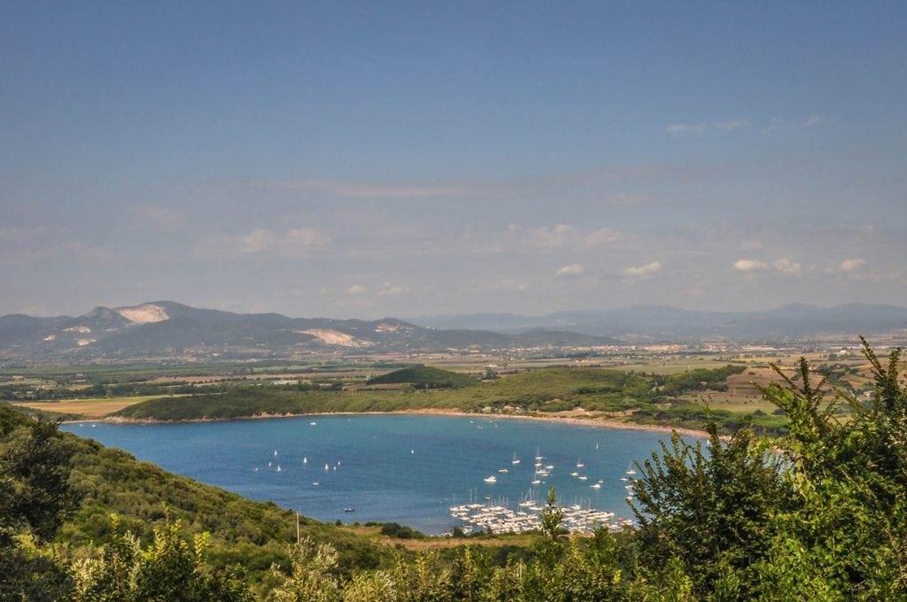 Baratti Gulf Etruscan Coast Tuscany