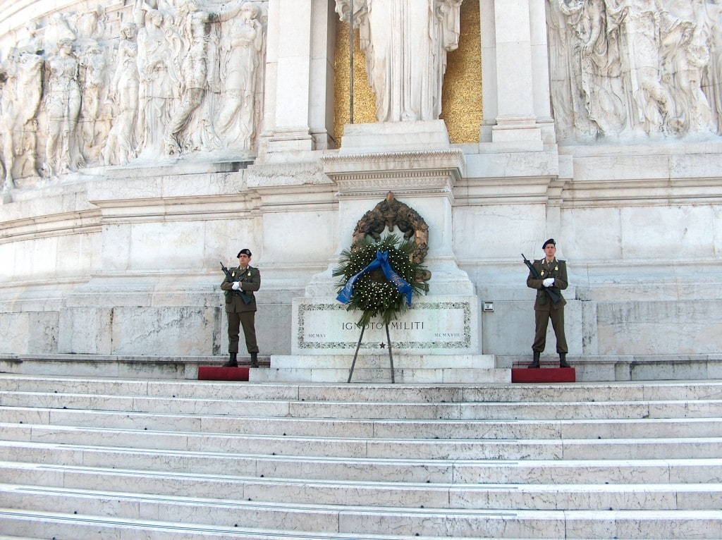 Guardia al milite Ignoto - Unknown soldier guard