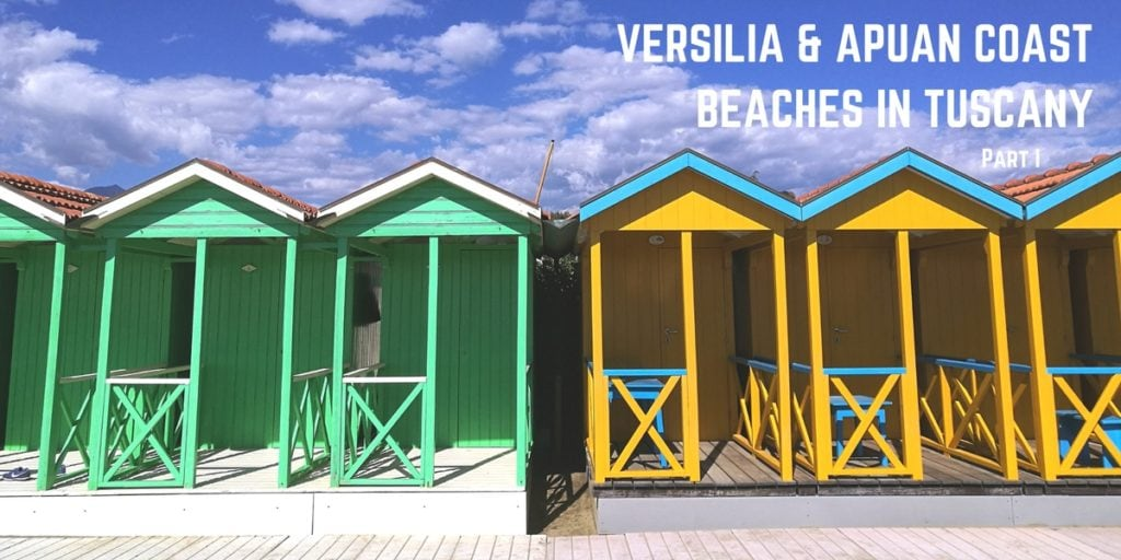 Versilia and the Apuan Riviera Beaches in Tuscany
