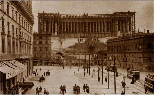 Vittoriano old picture