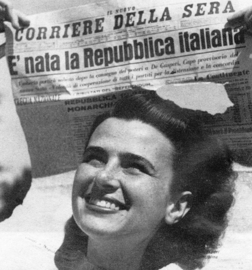 italian republic born