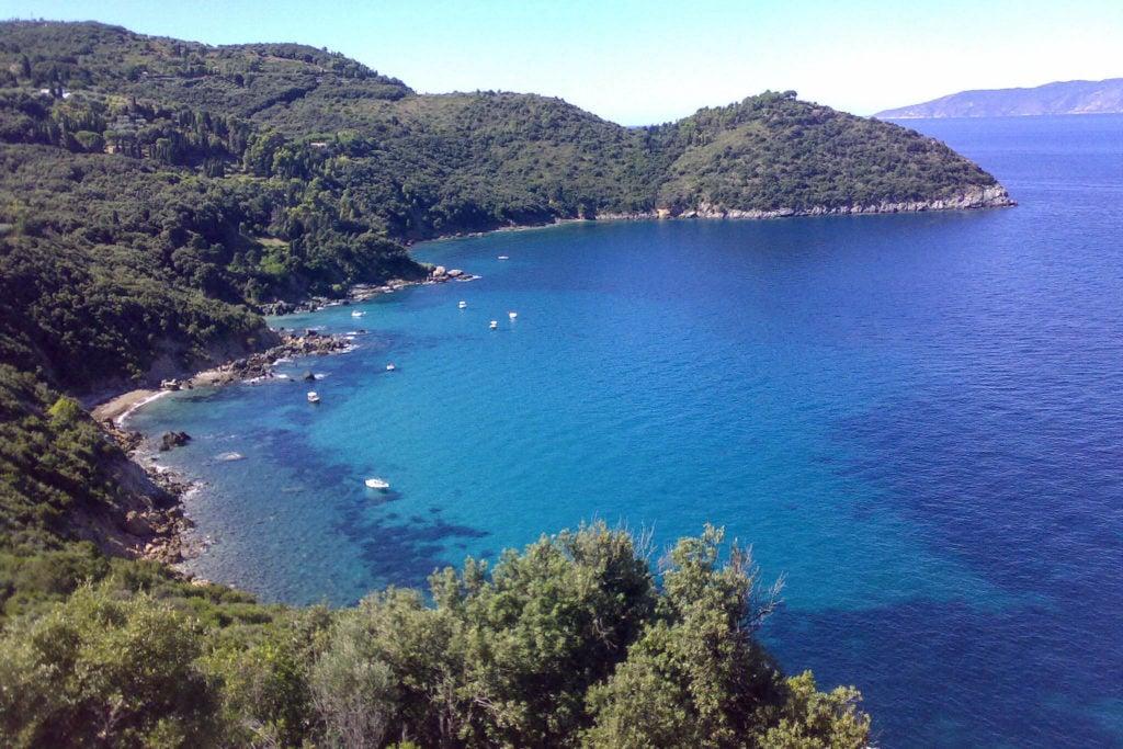 Cala Grande Argentario beaches in tuscany