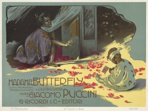Madama Butterfly Poster Puccini Festival