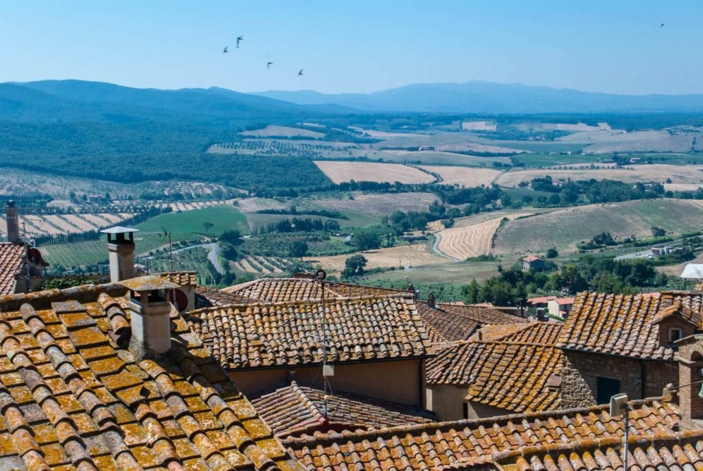 Panorama Villages in Tuscany