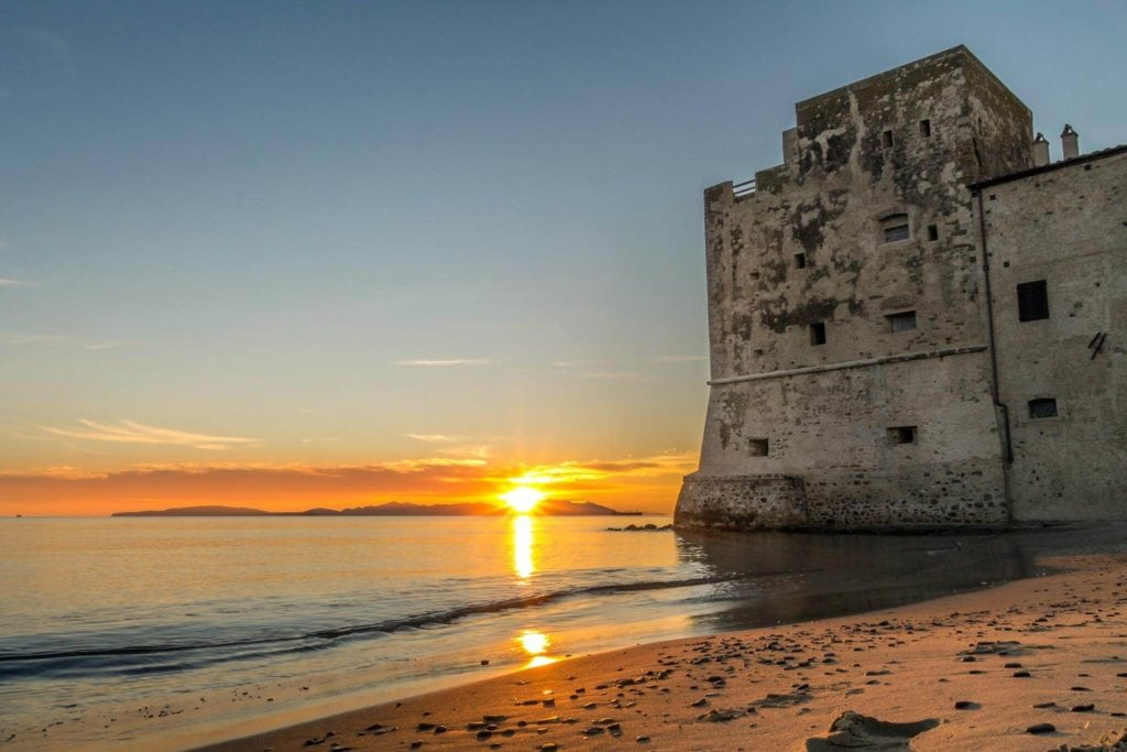 Torre Mozza Follonica Beaches in Tuscany