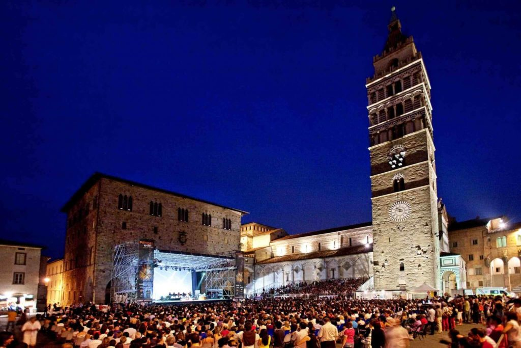 Pistoia summer festivals 2016 in Tuscany