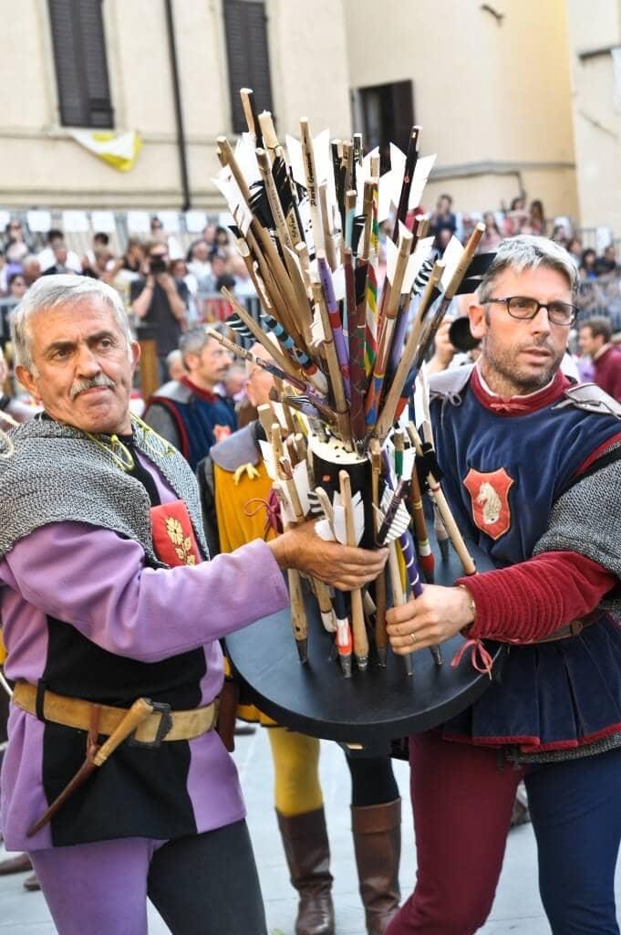 The Historical Crossbow Games of Sansepolcro