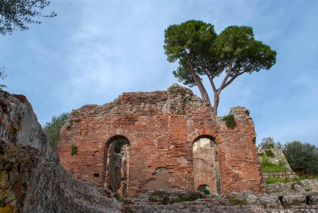 archaeological site of Massaciuccoli Romana