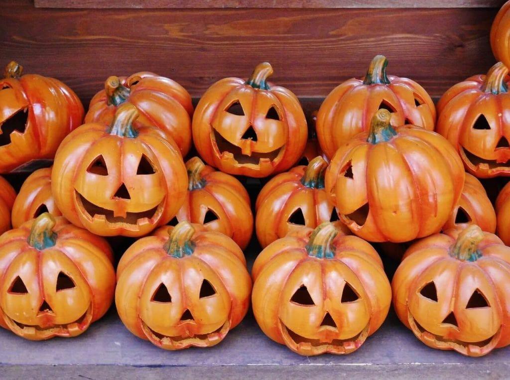 Halloween in Tuscany pumpkins