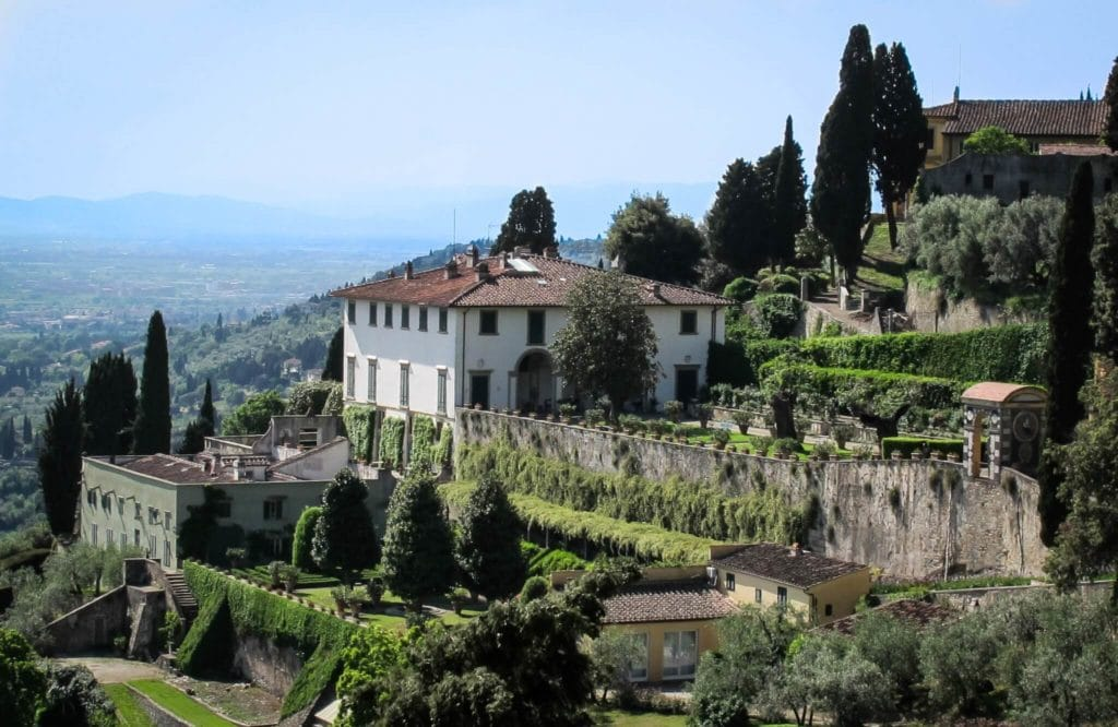 Day trips to take from florence my travel in tuscany for Jardin villa medicis rome