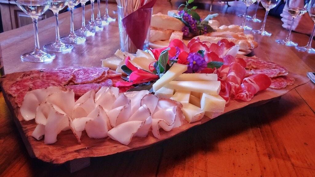 cold cuts dish Tuscany