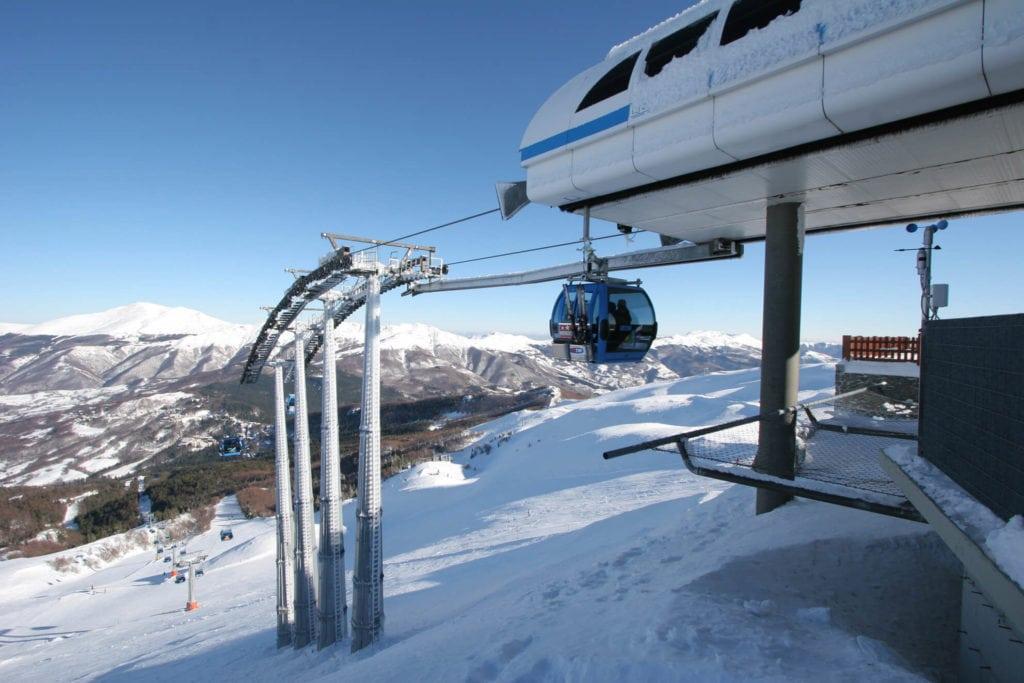Cableway Abetone Skiing in Tuscany MTIT