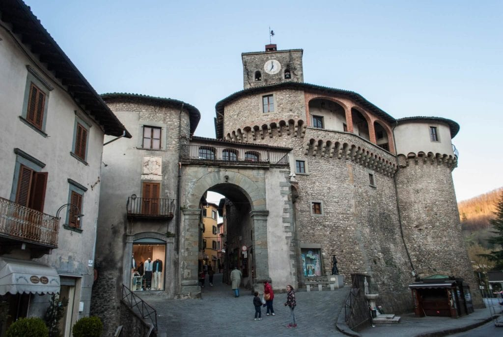 Castelnuovo Garfagnana Tuscany villages