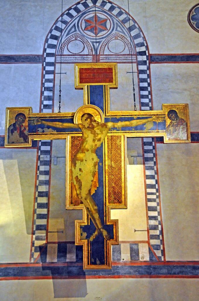 Cimabue Crucifix Santa Croce Florence