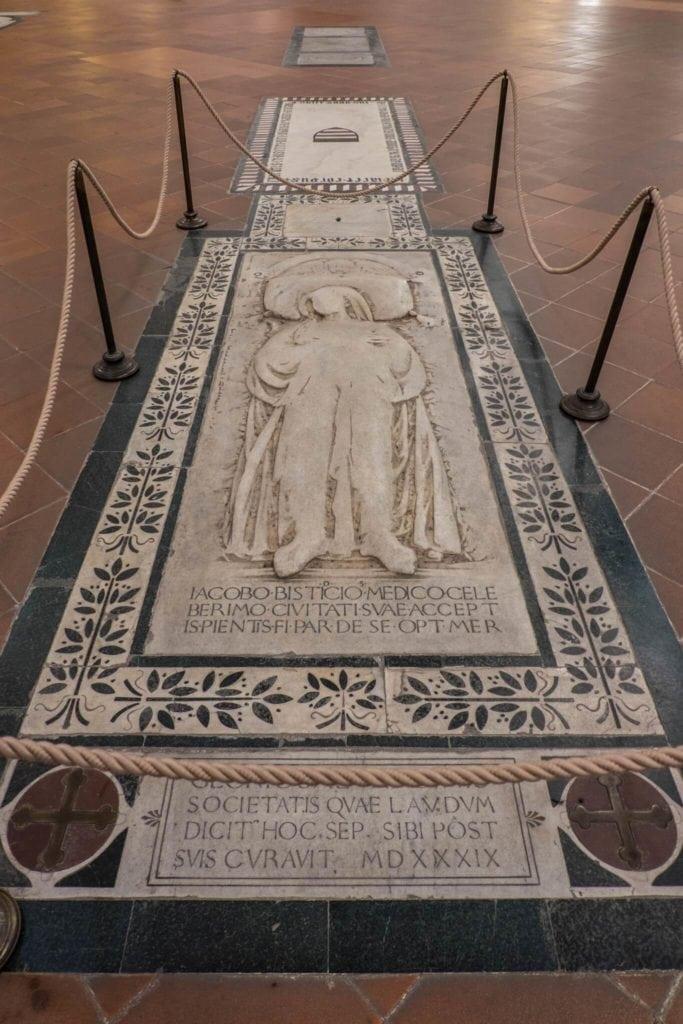 Floor Tombs Santa Croce Florence