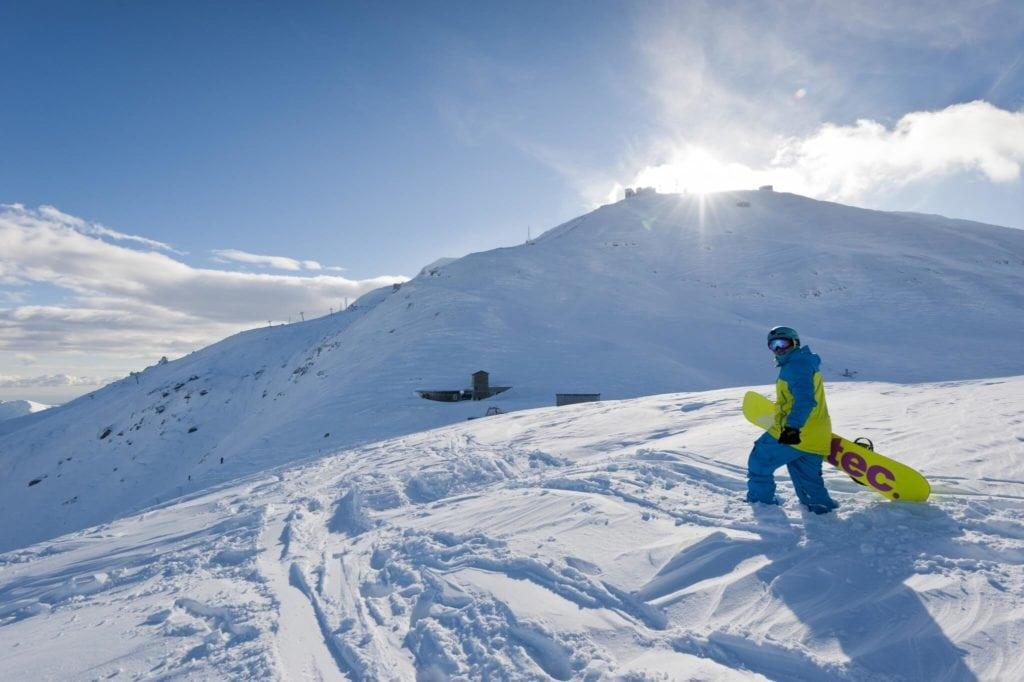 Monte Cimone ski area skiing in Tuscany MTIT