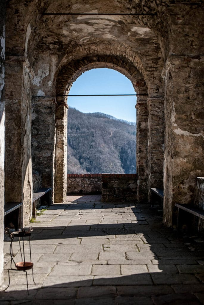 Arch of Fosdinovo Castle