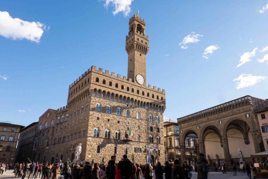 Arnolfo Tower Palazzo Vecchio Florence