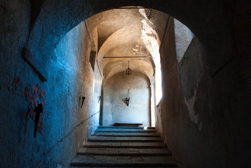 Stairs Fosdinovo Castle