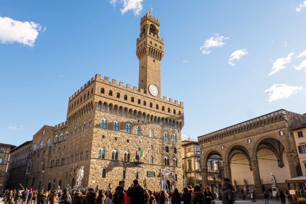 Palazzo Vecchio and the Arnolfo Tower