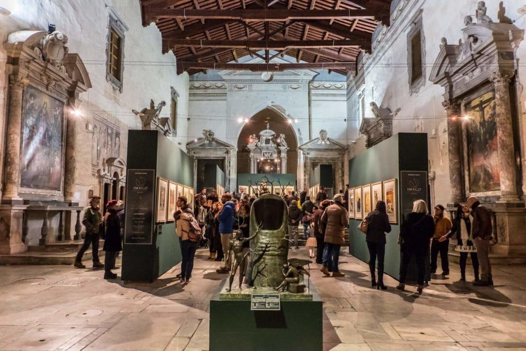 Salvador Dali in Pietrasanta: The cloister