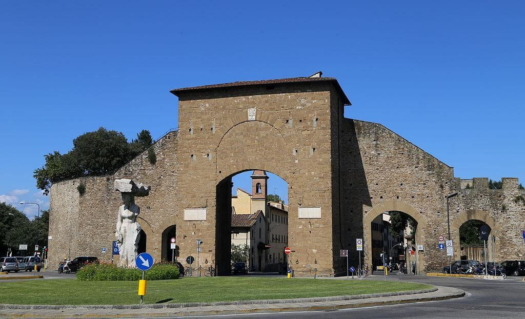 Dan brown 39 s inferno self guided tour of florence my - Porta romana florence ...