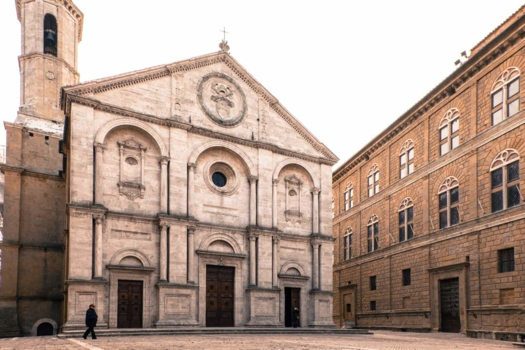 The main Square of Pienza