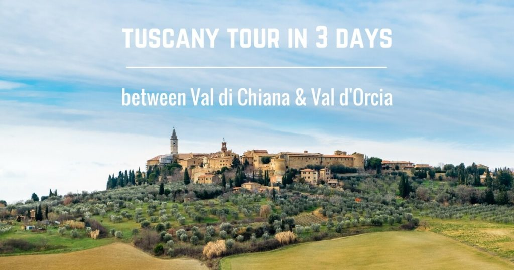 Tuscany Tour between Val di Chiana and Val d'orcia