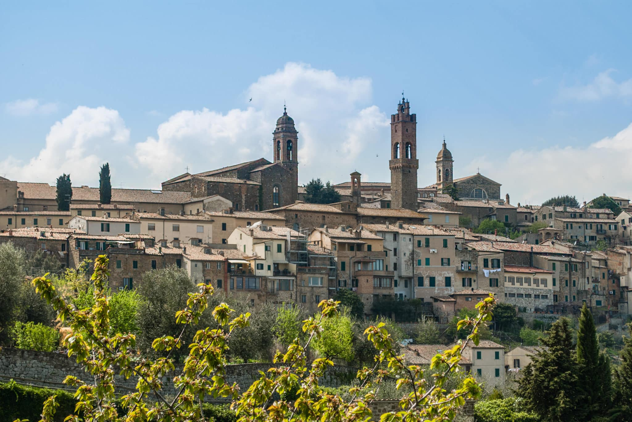 Montalcino Village of Tuscany
