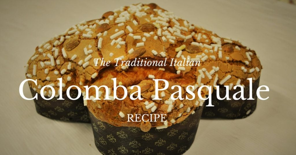 The traditional Italian Colomba Pasquale recipe