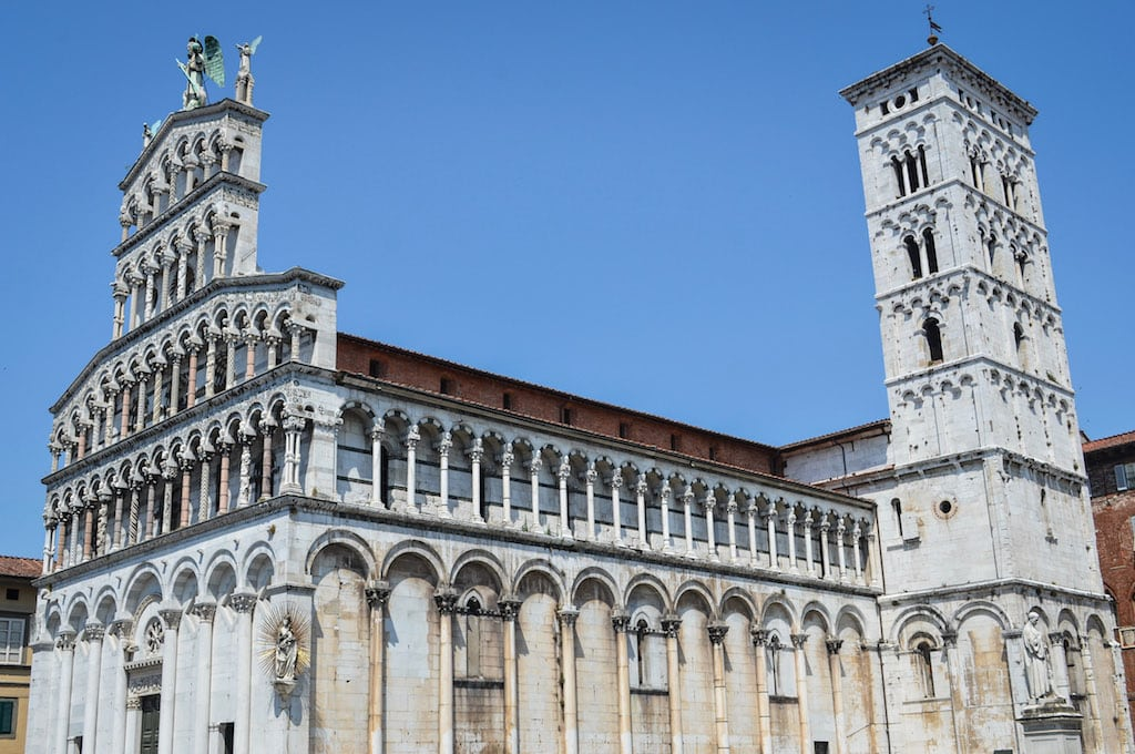 San Michele in Foro church, what to do in Lucca for a half day