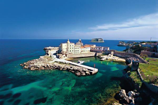 Pianosa Island of Tuscany