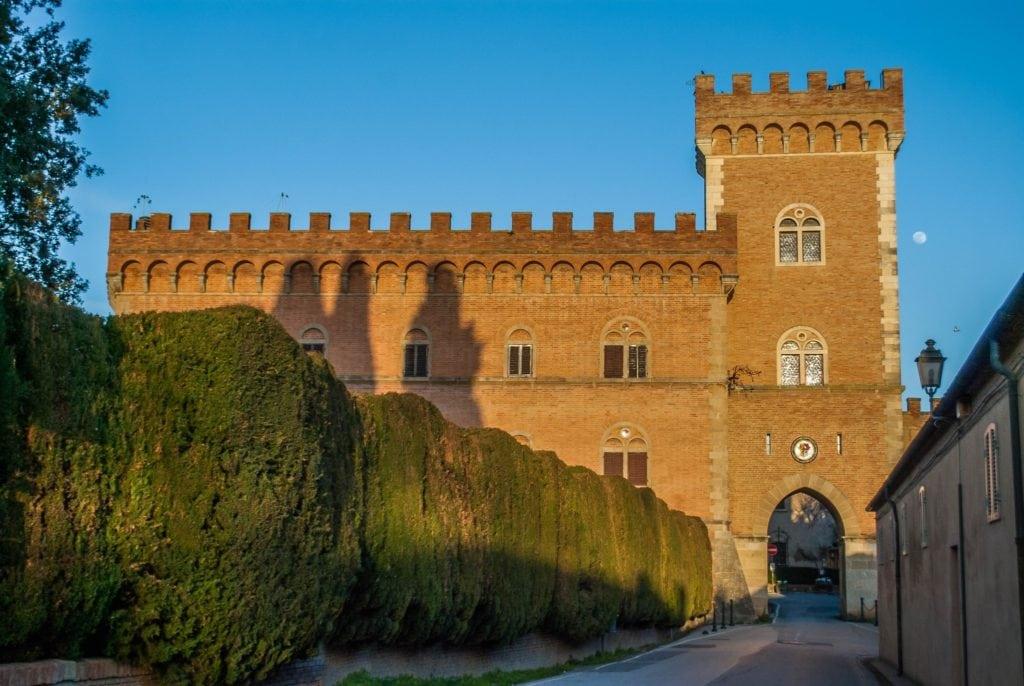 Entrance 1 Bolgheri Tuscany