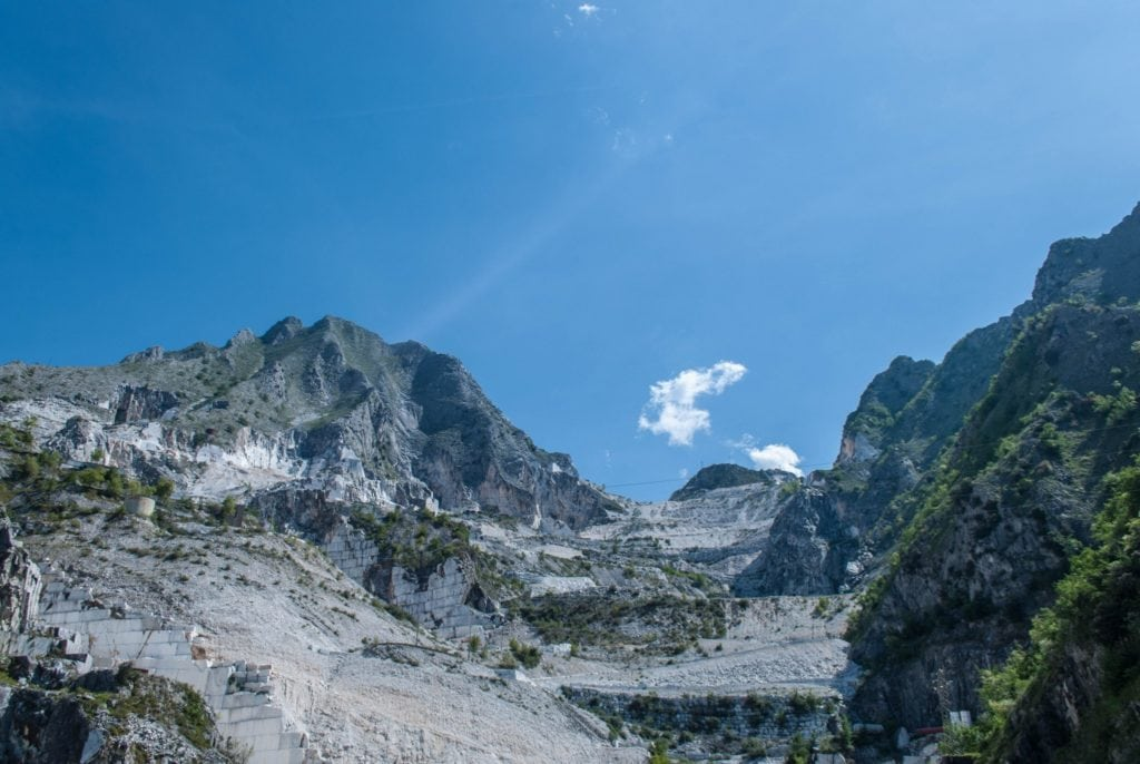 Marble Quarries Carrara Tuscany