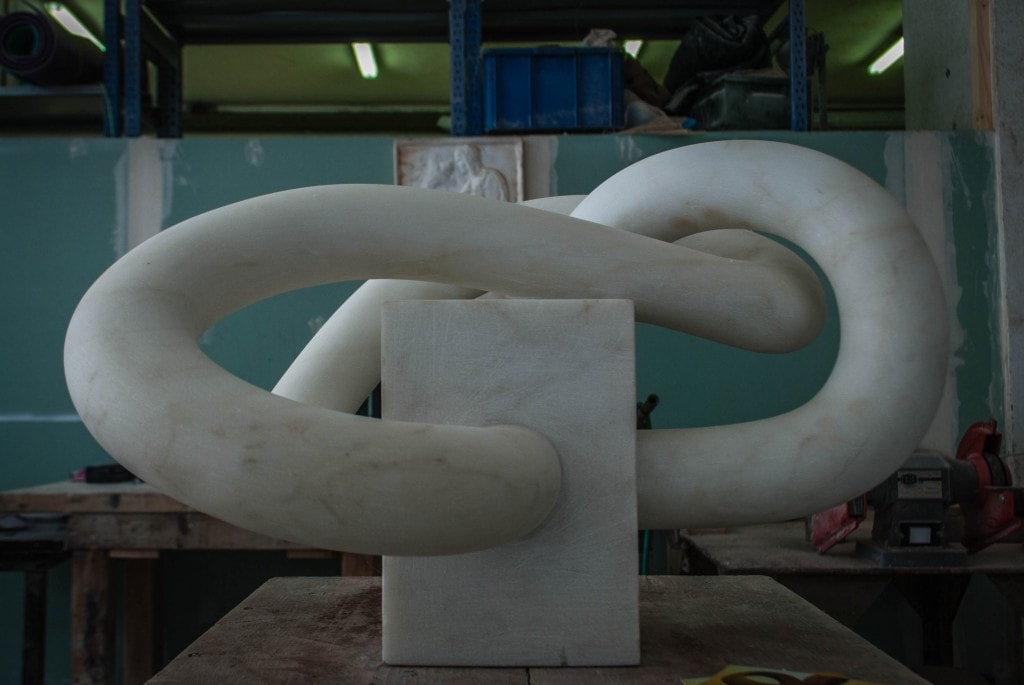 Marble artworks