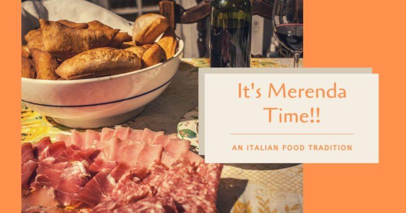 Merenda, An Italian Food Tradition