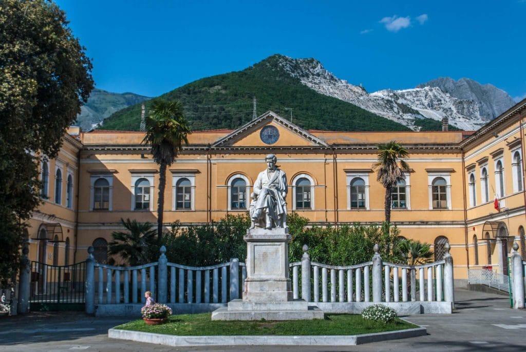 Piazza Gramsci Carrara Tuscany