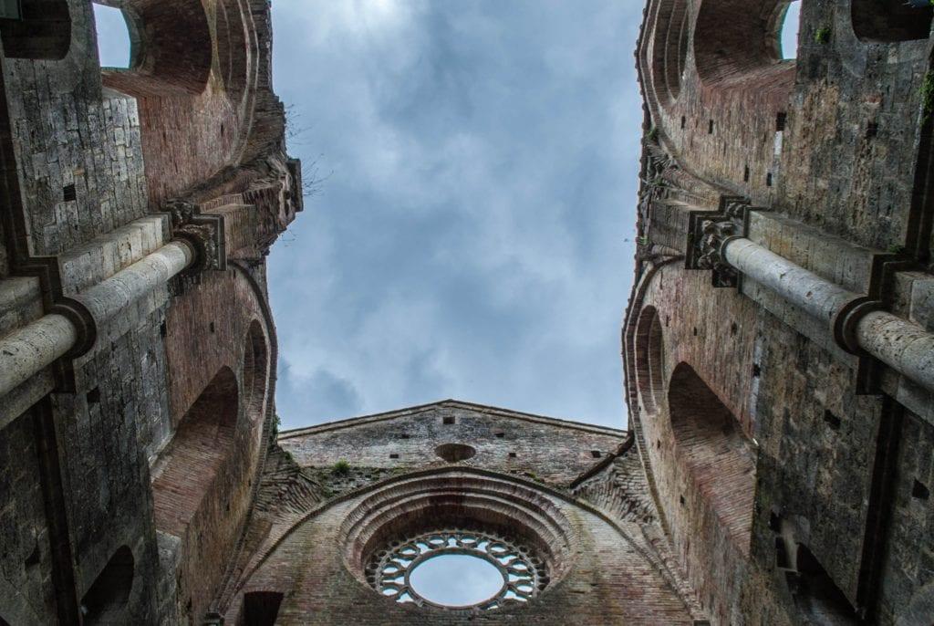 San Galgano abbey int Tuscany