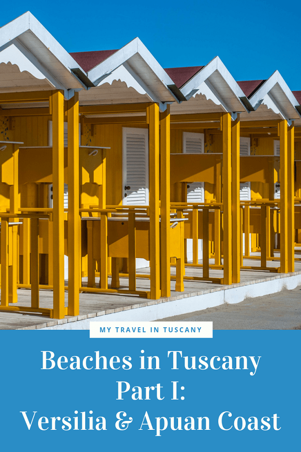 Beaches in Tuscany_Versilia & Apuan Coast Pin it for later