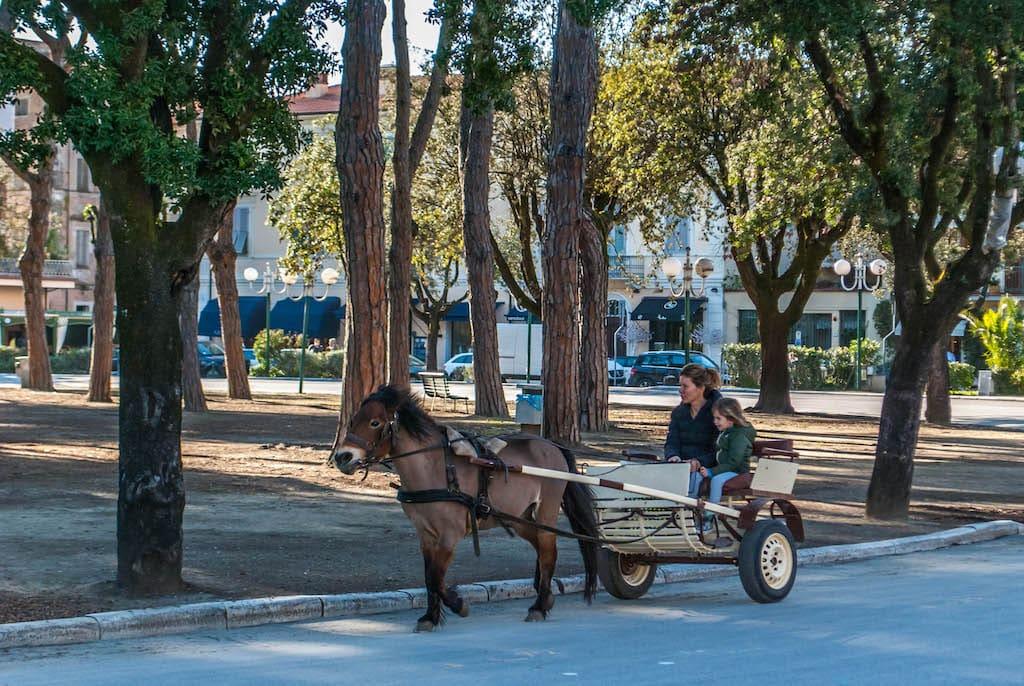 Forte dei Marmi tour on horses Tuscany