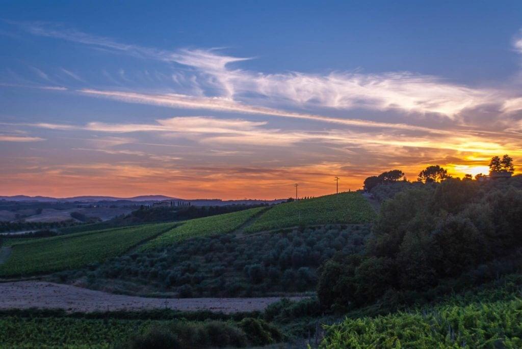Panorama 1 Convito di Curina Chianti Tuscany Giorgio Trovato