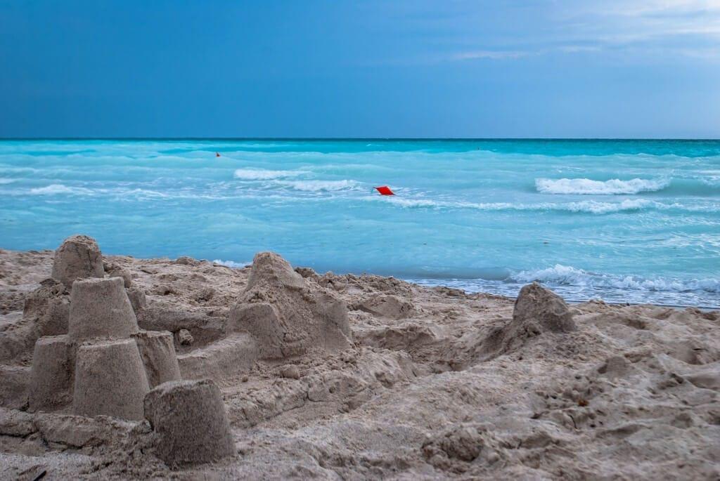 Sand Castle White Beach Vada Etruscan Coast Tuscany