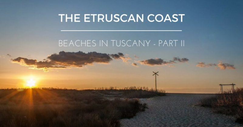 Baratti on the Etruscan Coast, Beaches in Tuscany