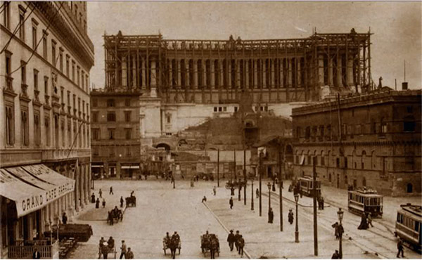 Vittoriano old picture