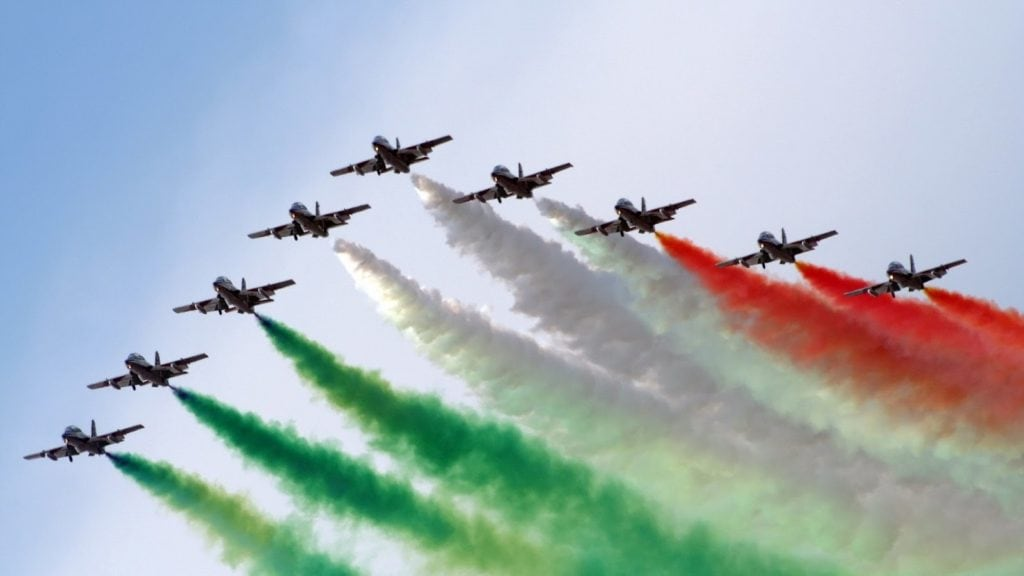 frecce tricolori republic day